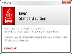 Java SE Runtime Environment 7.0u45 官方安装版