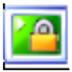 迷你桌面鎖 V2.0 綠色版