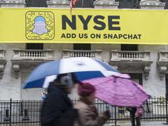外媒称Snap IPO交易已获超额认购