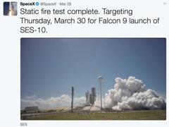 SpaceX或再创历史:本周再次发射回收火箭!