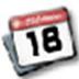 飛雪桌面日歷 V9.7.1 綠色版