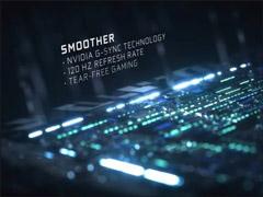 刷新率达120Hz!英伟达CES 2018展前发布65寸高端游戏显示器