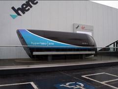 美国超级高铁Hyperloop One在CES 2018展会亮相
