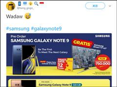 三星Galaxy Note9印尼版售价遭曝光