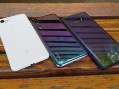 外媒放出谷歌Pixel 3 XL/华为P20 Pro/三星Note9样张对比
