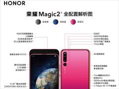 荣耀手机公布Magic 2全配置解析图