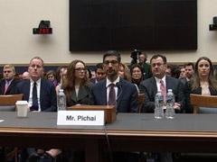 "iPhone会弹出以前照片?谷歌CEO遭美国国会议员""灵魂拷问"""