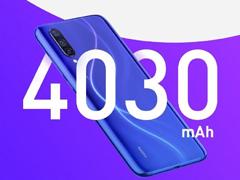 小米:CC9/9e标配4030mAh电池