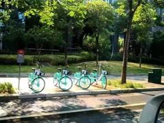 網曝搭載北斗導航的共享單車在武漢開測