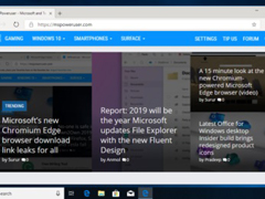 微軟:Chromium版Edge滾動響應速度已與經典版相同