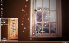 心灵之窗xp桌面主题