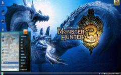 怪物猎人3win7主题下载