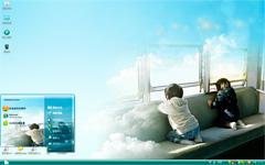 空中列车xp系统主题