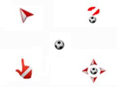 活力十射足球鼠标指针