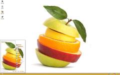 水果切片组合xp主题