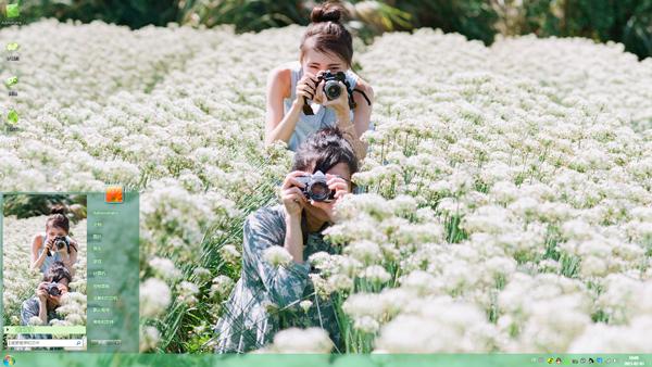 日系主题园间v主题Win7美女美女哪里有俄罗斯图片