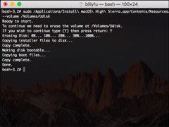 怎?#35789;?#21160;制作macOS High Sierra安装盘�