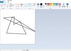 如何用windows自带的画图工具画创意图形 用windows自带的画图工具画创意图形的方法