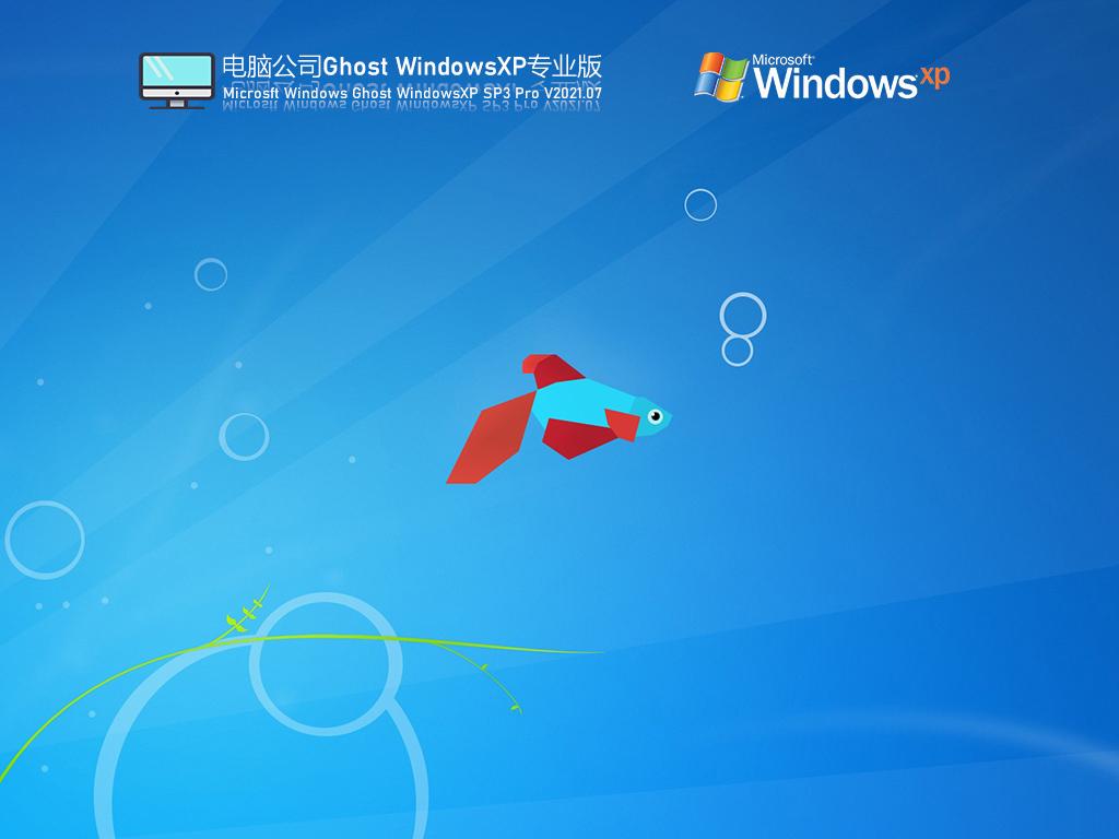 电脑公司Windows XP SP3经典专业版 V2021.07