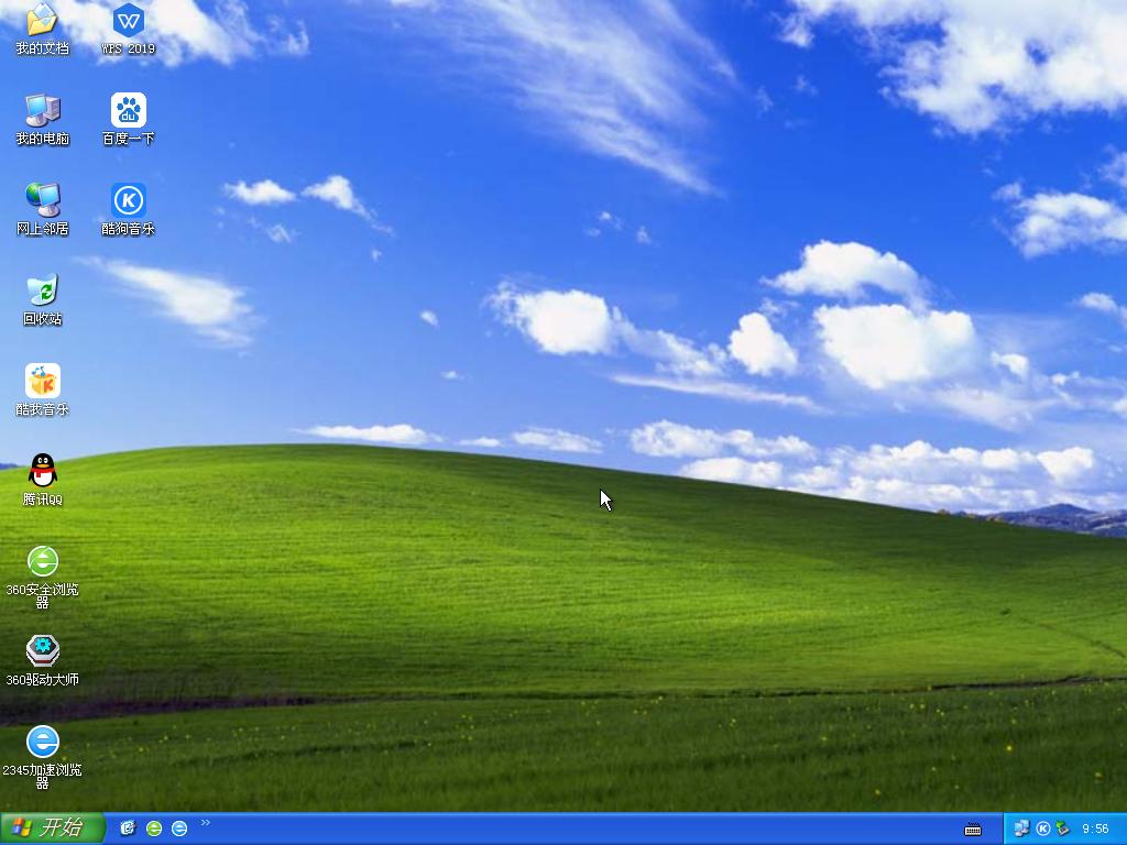 技术员联盟Windows XP SP3稳定装机版 V2021.09
