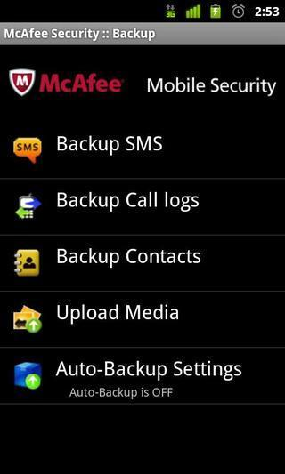 McAfee手机杀毒 v4.8.0.370