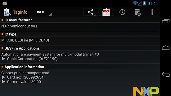NFC标签读取TagInfo v4.11.59