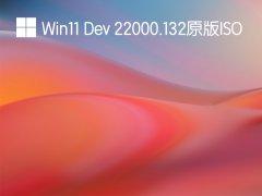 Win11 Dev 22000.132 ISO官方原版 V2021.08.09